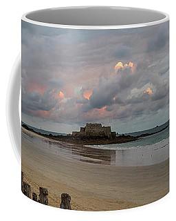 Sunrise Over Fort National, Brittany Coffee Mug
