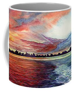 Sunrise Over Indian Lake Coffee Mug