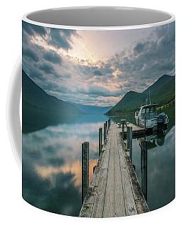 Sunrise Over Lake Rotoroa Coffee Mug
