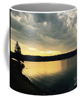 Sunrise Over Lake Washington Coffee Mug