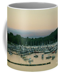 Sunrise Over Mallets Bay Variations - Three Coffee Mug