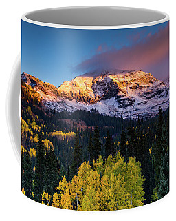 Sunrise Over Mount Owen Coffee Mug