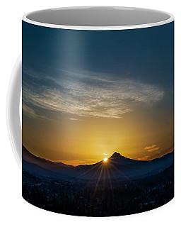 Sunrise Over Mt. Hood Coffee Mug
