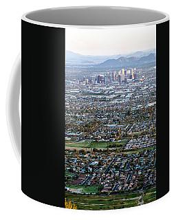 Sunrise Over Phoenix Arizona Coffee Mug