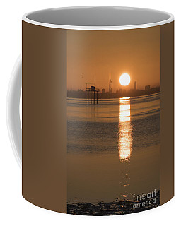 Sunrise Over Portsmouth Coffee Mug