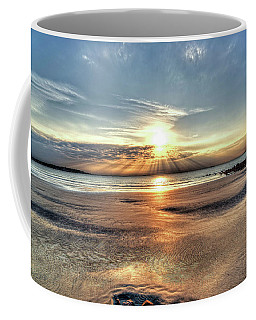 Sunrise Over Red Rock Park Lynn Ma Kings Beach Coffee Mug