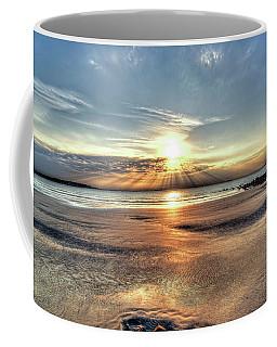 Sunrise Over Red Rock Park Lynn Ma Kings Beach Coffee Mug