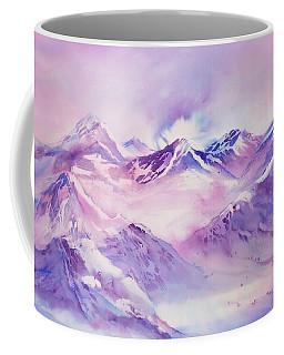 Swiss Mountains Early Morning Coffee Mug