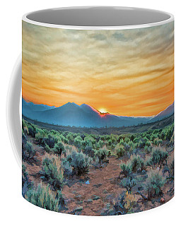 Sunrise Over Taos Coffee Mug