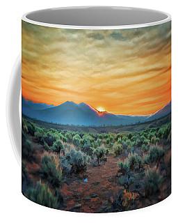 Sunrise Over Taos II Coffee Mug
