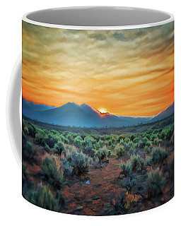 Sunrise Over Taos II Coffee Mug