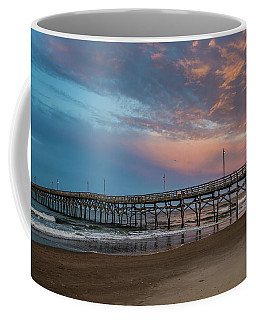 Sunset Over The Atlantic Coffee Mug by Scott and Dixie Wiley