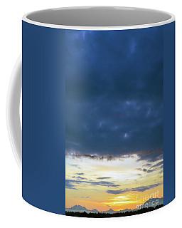 Sunrise Over The Cascades Coffee Mug