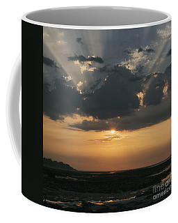 Sunrise Over The Isle Of Wight Coffee Mug