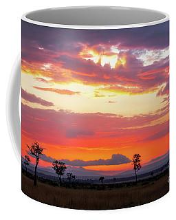 Sunrise Over The Mara Coffee Mug