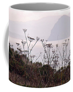 Sunrise Over The Rock Coffee Mug by Walter Fahmy