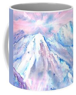 Swiss Mountains With Sunrise Coffee Mug