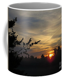 Sunrise Over The Trees Coffee Mug by Craig Walters