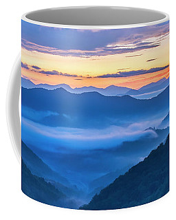 Sunrise Over The Valley Coffee Mug