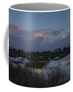 Sunrise Over The Wetlands Coffee Mug