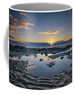 Coffee Mug featuring the photograph Sunrise Over Wells Beach by Rick Berk