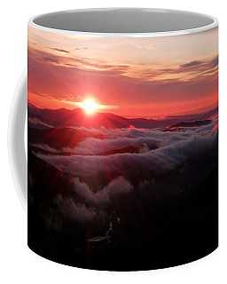 Sunrise Over Wyvis Coffee Mug