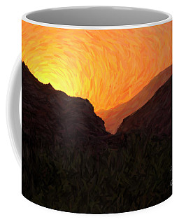 Sunrise Over Zion Coffee Mug