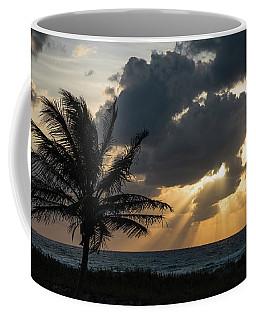 Sunrise Palm Rays Delray Beach Florida Coffee Mug
