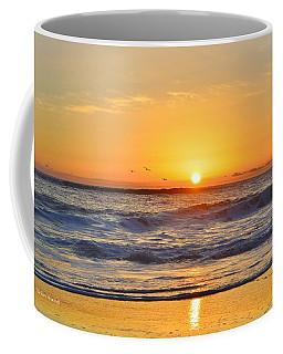 Sunrise Pea Island Coffee Mug
