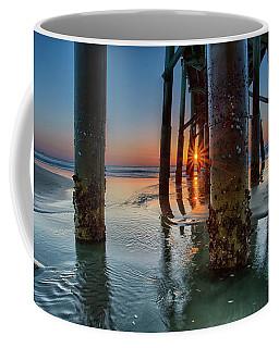 Sunrise Pier Coffee Mug
