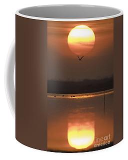 Sunrise Reflection Coffee Mug by Hitendra SINKAR