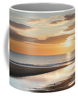 Sunrise Reflections At Aberdeen Beach Coffee Mug