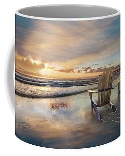 Coffee Mug featuring the photograph Sunrise Romance by Debra and Dave Vanderlaan