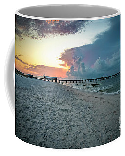 Sunrise Seascape Gulf Shores Al Pier 064a Coffee Mug