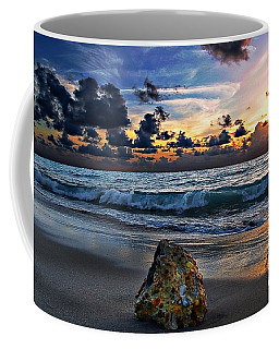 Sunrise Seascape Wisdom Beach Florida C3 Coffee Mug