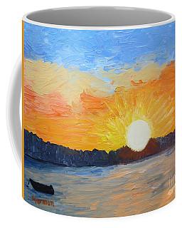 Sunrise At Pine Point Coffee Mug