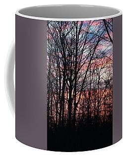 Sunrise Silhouette And Light Coffee Mug