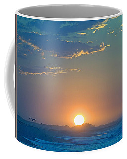 Coffee Mug featuring the photograph Sunrise Sky by  Newwwman