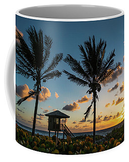 Sunrise Sunburst Palms Delray Beach Florida Coffee Mug