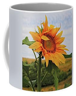 Sunrise Sunflower Coffee Mug by Kathleen Sartoris