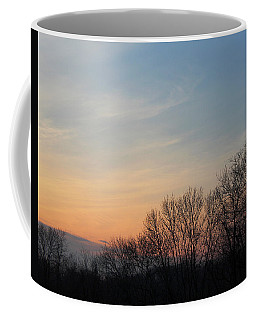 Coffee Mug featuring the photograph Fall Sunset by Melinda Blackman