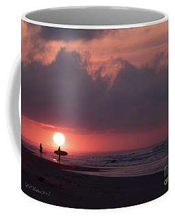 Sunrise Surfer Coffee Mug
