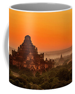 Coffee Mug featuring the photograph Sunrise View Of Dhammayangyi Temple by Pradeep Raja Prints