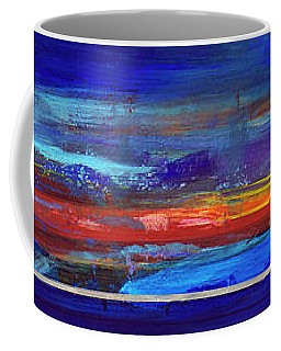 Sunrise Panorama Coffee Mug by Walter Fahmy