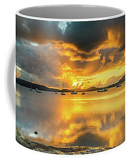 Sunrise Waterscape With Reflections Coffee Mug