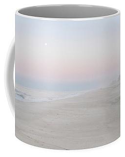 Sunrise With The Moon Coffee Mug