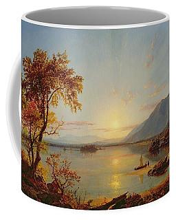 Sunset  Lake George Coffee Mug