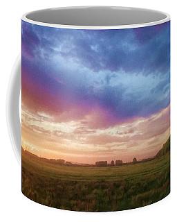 Sunset Across Cheshire Coffee Mug