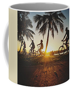 Coffee Mug featuring the photograph Sunset Adventures Along The River At Noosaville by Keiran Lusk