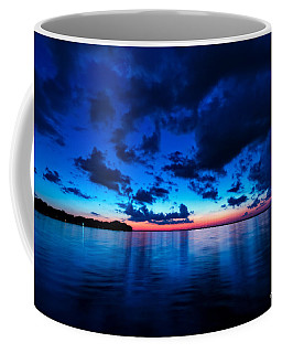 Coffee Mug featuring the photograph Sunset After Glow by Christopher Holmes